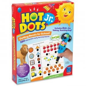 Learning Resources 6106 Learning Resources Hot Dots Jr. Getting Ready for School Set
