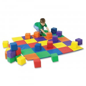 Childrens Factory 322047 Patchwork Mat Matching Blocks Set