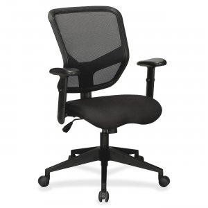 Lorell 84565 Executive Mesh Mid-Back Chair