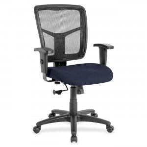 Lorell 8620901 Managerial Mesh Mid-back Chair