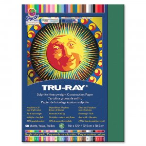 Tru-Ray 103021 Sulphite Construction Paper PAC103021