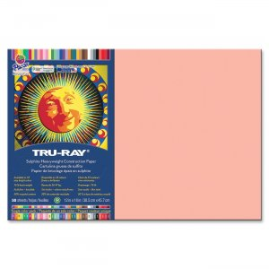 Tru-Ray 103042 Sulphite Construction Paper PAC103042