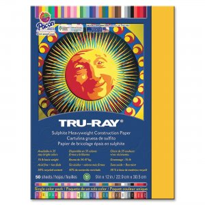 Tru-Ray 102997 Heavyweight Construction Paper PAC102997