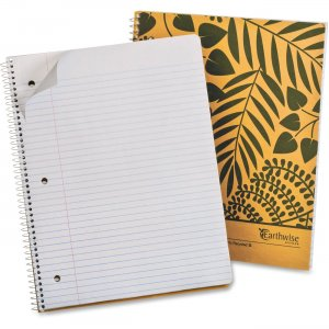 Ampad 25480 Earthwise Recycled 3HP Notebook TOP25480