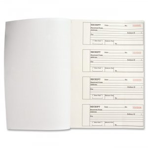 Business Source 39558 Duplicate Receipt Book BSN39558
