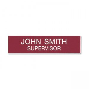Xstamper J11 Plastic Name Badge XSTJ11