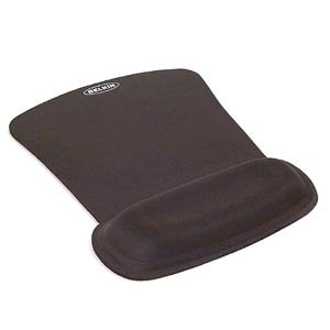 Belkin F8E262-BLK WaveRest Series Gel Mouse Pad