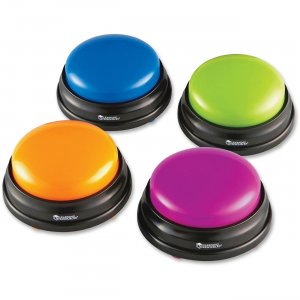 Learning Resources LER3774 Answer Buzzers, Set of 4