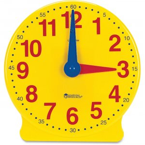 Learning Resources 2094 Learning Clock, 12-Hour Demonstration Clock