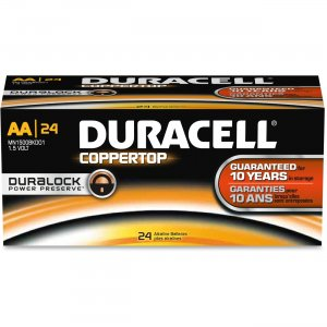 Duracell 01501 AA CopperTop Batteries