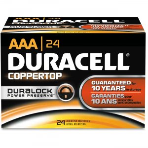 Duracell 02401 AAA CopperTop Batteries