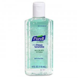 PURELL 963124CT Instant Hand Sanitizer with Aloe GOJ963124CT