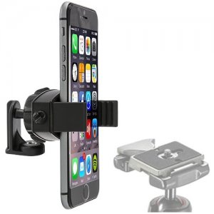 "Arkon MG21420 Mobile Grip 2 Universal Smartphone Holder with 1/4""-20 Tripod Adapter"