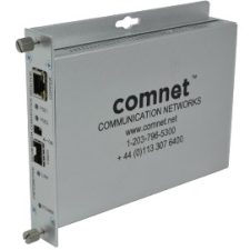 ComNet CNFE2MCPOE ComFit 2 Port 10/100 Mbps Ethernet Media Converter with POE
