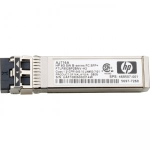 HP E7Y74A StoreFabric B-series 1GbE LX SFP Transceiver