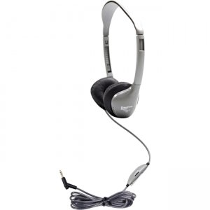 Hamilton Buhl MS2LV SchoolMate Personal Stereo Headphone with in-line Volume, Leatherette