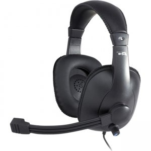 Cyber Acoustics AC-967 Pro Grade Stereo Headset and Boom Mic