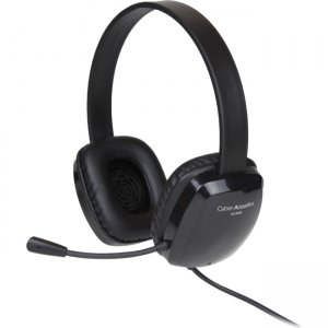 Cyber Acoustics AC-6008 Stereo Headset w/ Single Plug
