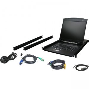 "Iogear GCL1908 8-Port 19"" LCD KVM Drawer"