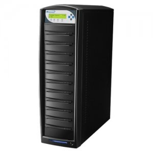 Vinpower Digital SHARK-S10T-BK SharkCopier SATA DVD/CD Tower Duplicator - 24x