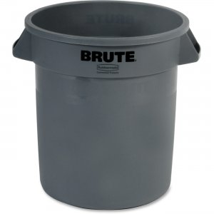 Rubbermaid Commercial 261000GY Brute Round 10-gal Container RCP261000GY