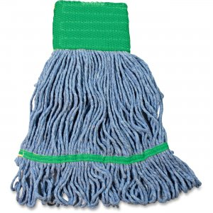 Impact Products L270MD Cotton/Synthetic Blend Saddle-Type Looped-End Wet Mop with Tailband IMPL270MD