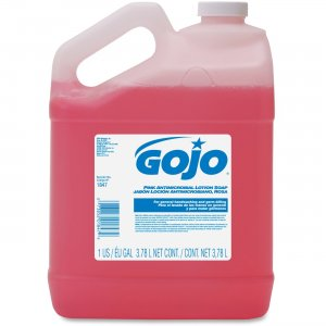 GOJO 1847-04 Antimicrobial Handwashing Lotion Soap GOJ184704