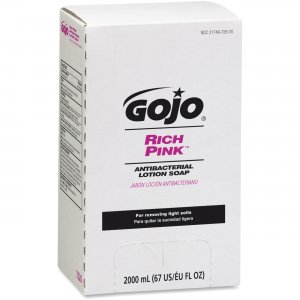 GOJO 7220-04 RICH PINK Antibacterial Lotion Soap GOJ722004
