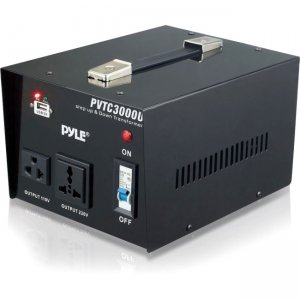 Pyle PVTC3000U Step Up and Step Down 3000 Watt Voltage Converter Transformer - AC 110/220 V