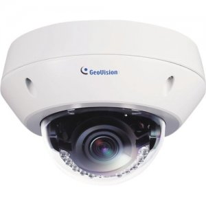 GeoVision GV-EVD2100 2MP H.264 Super Low Lux WDR IR Vandal Proof IP Dome