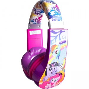 Sakar 30357 Kids My Little Pony Kids Safe Friendly Headphones