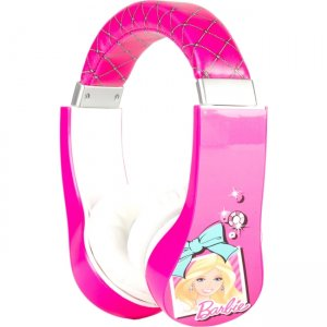 Sakar 30359 Kids Barbie Kids Safe Friendly Headphones