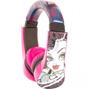 Sakar 30348 Kids Monster High Kids Safe Friendly Headphones