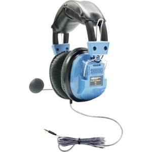Hamilton Buhl SCG-AMV Deluxe Headset with Gooseneck Microphone and TRRS Plug