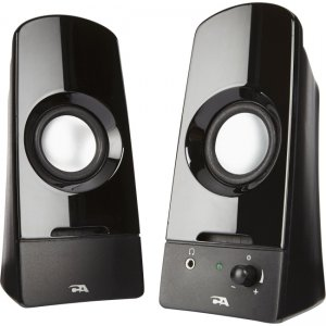 Cyber Acoustics CA-2050 2.0 Powered Speaker System Sonic