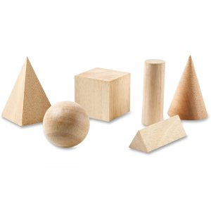Learning Resources LER01206 Wooden Geometric Shapes Set