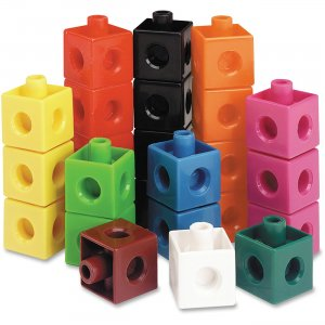 Learning Resources LER7584 Snap Cubes, Set of 100