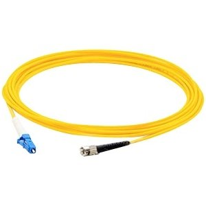 AddOn ADD-ST-LC-10MS9SMF 10m Single-Mode fiber (SMF) Simplex ST/LC OS1 Yellow Patch Cable