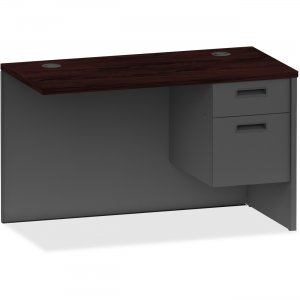Lorell 97139 Mahogany/Charcoal Return