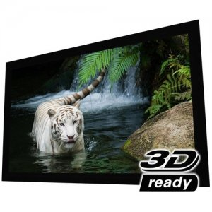 "EluneVision EV-F3S-92-1.0 92"" Reference 4K Fixed Frame Screen"
