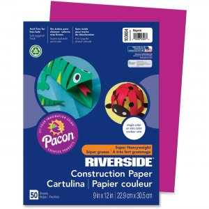 Riverside 103604 Groundwood Construction Paper PAC103604