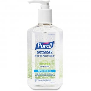 PURELL 369112 Hand Sanitizer Refreshing Gel Pump GOJ369112