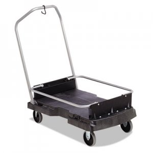 Rubbermaid Commercial RCP9F55BLA Ice-Only Cart, 500-lb Cap, 21 2/5w x 39 1/10d x 15h, Black