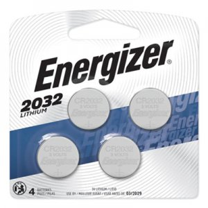 Energizer EVE2032BP4 Watch/Electronic/Specialty Battery, 2032, 3V, 4/Pack