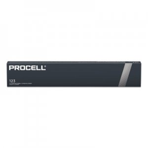 Duracell DURPL123BDK Procell Lithium Batteries, CR123, For Camera, 3V, 12/Box