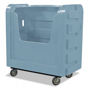 Royal Basket Trucks RBTR36GRXBF6UN Bulk Transport Truck, 28 x 50 1/2 x 54 3/4, 800 lbs. Capacity, Gray