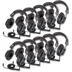 Califone 3068AV-10L Switchable Stereo/Mono Headphones