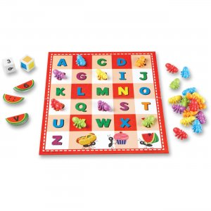 Learning Resources 7730 ABC & 123 Ant Picnic Activity Set