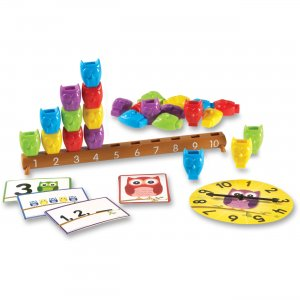 Learning Resources 7732 Owls on a Branch Counting Activity Set