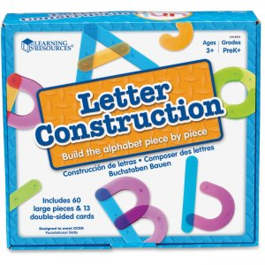 Learning Resources 8555 Letter Construction Activity Set